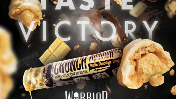 Warrior Crunch : Вкусен бар с високо съдържание на протеин