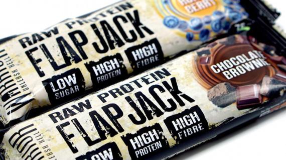 Warrior Raw Protein Flapjack - Най-добрият Flapjack протеинов бар от Обединеното Кралство