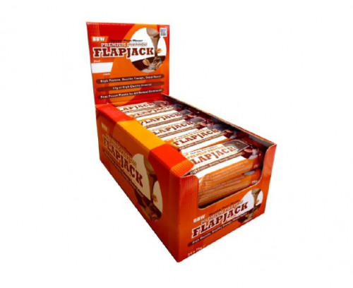 Premium Protein Flapjack – 24 бр. Bodybuilding Warehouse 1