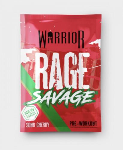 Warrior Rage Savage - Sour Cherry - 16.5g Sample 1