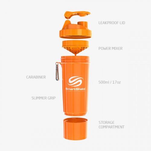Orange Neon 500ml SmartShake 3