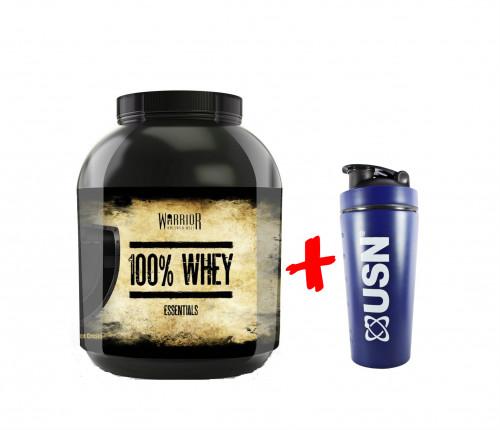 Warrior Essentials 100% Gold Whey 2.27kg 1