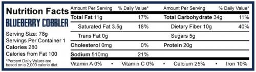 RF BAR 10 бр 5% Nutrition Rich Piana 2