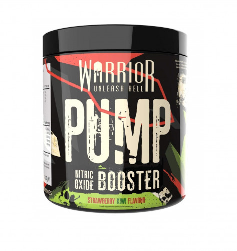 Warrior PUMP – 30 Servings (225G) Август 2020г 1