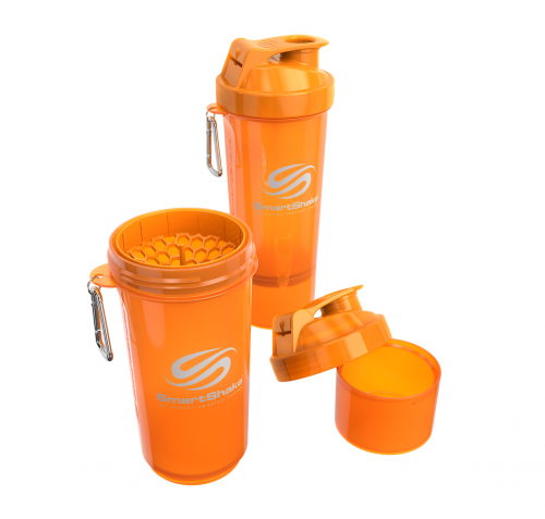 Orange Neon 500ml SmartShake 1