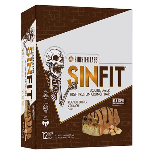 Sinister Labs Sinfit Bars 12x83g 1