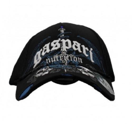 Gaspari CAP Black Mesh Gothis Dragon Blue Tip 1