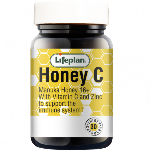 Honey C / Мед Манука 16+, Витамин C и Цинк 1
