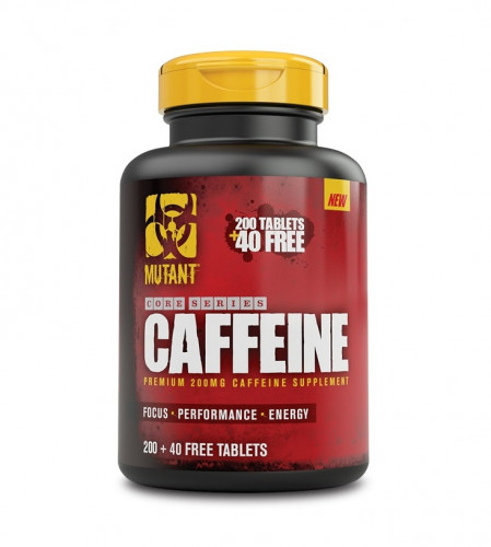 Mutant Core Serioes Caffeine 200mg 240 tablets 1