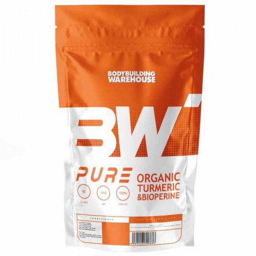 Органична куркума (куркумин) + Биоперин Bodybuilding Warehouse 1