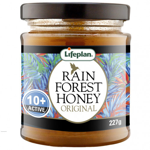 Rainforest Honey Active 10+ 227g 1