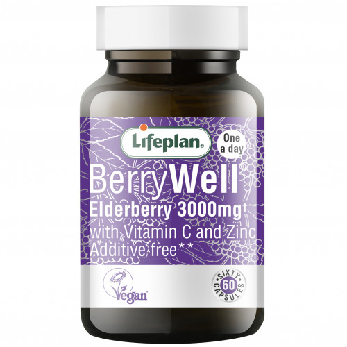 BerryWell® Black Elderberry / Черен бъз 3000mg 1