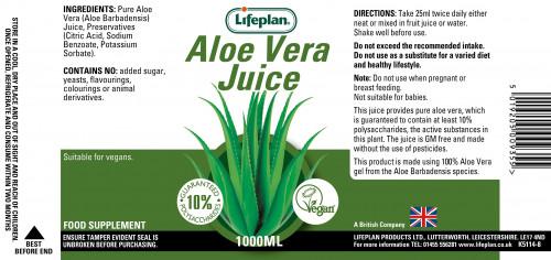 Aloe Vera Juice 1000ml 2