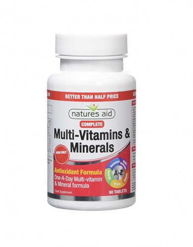 MutliVitamin A-Z Natures Aid 1
