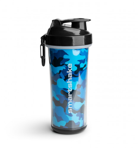 Double Wall Camo Blue 750 ml SmartShake 1