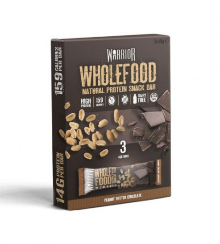 Warrior Wholefood Bar Pack of 3 1