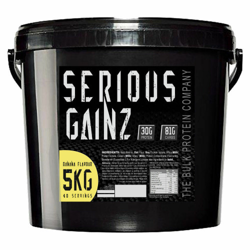 The Bulk Protein Company Serious Mass Gainz 5kg 1