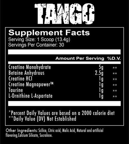 RedCon1 Tango - Creatine Recovery Solution Blend 2
