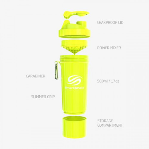 Yellow Neon 500ml SmartShake 2