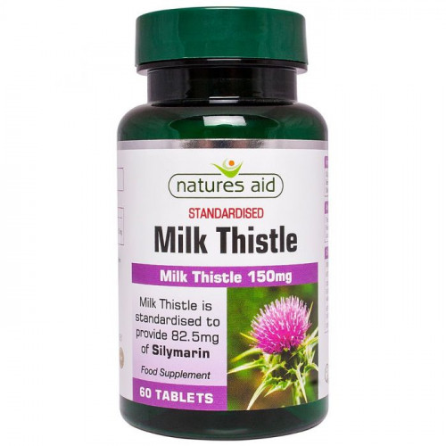 Milk Thisle / Бял трън Natures Aid 1