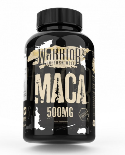 Warrior Maca Root Powder 500mg - 60 Tablets 1