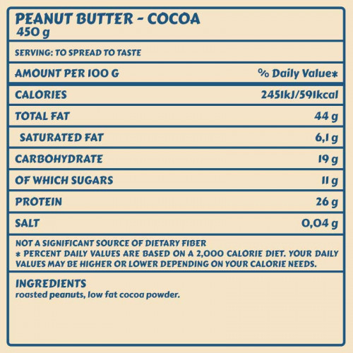 Peanut Whey Butter 450gr Frankys Bakery 2