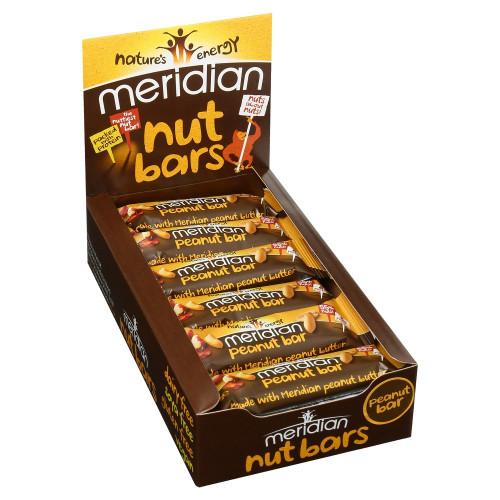 Peanut Bars 18x40gr Meridian 1