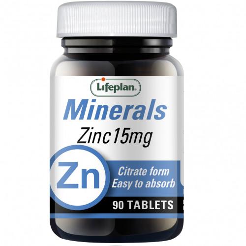 Zinc Citrate 15mg / Цинк цитрат 1