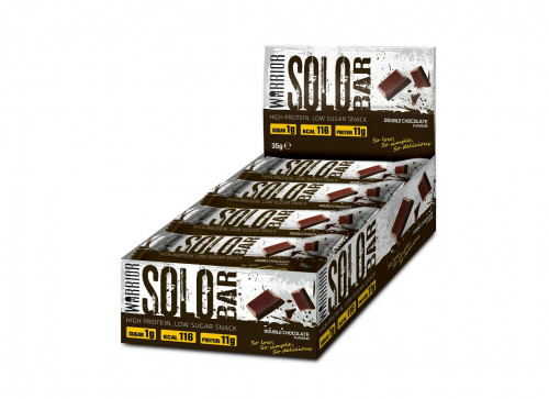 Warrior SOLO Protein Bar - 12 Bars 1
