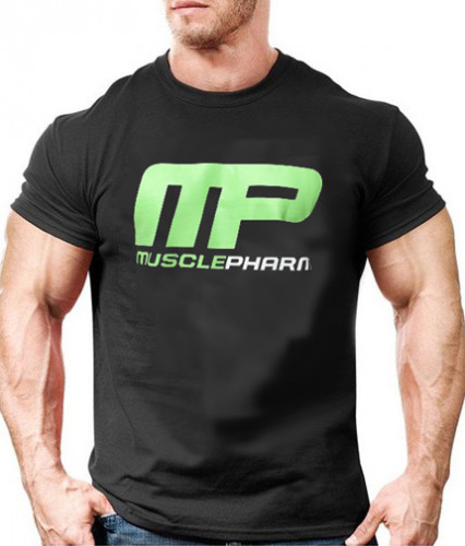 T-Shirt Black Muscle Pharm 2