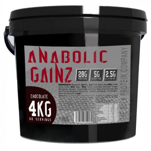The Bulk Protein Company Anabolic Gainz 4kg 1