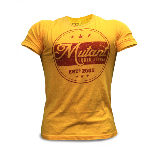 Mutant T-Shirt Yellow 1