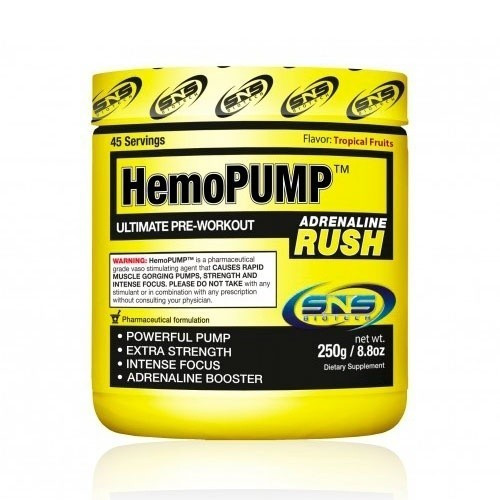 SNS Biotech HemoPump Adrenaline Rush 250g 1