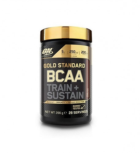 BCAA Train + Sustain Gold Standard 1