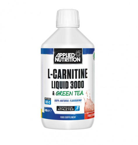 L-Carnitine Liquid 3000 Green Tea Applied Nutrition 1