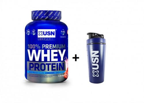 USN Premium Whey 100% Protein 1