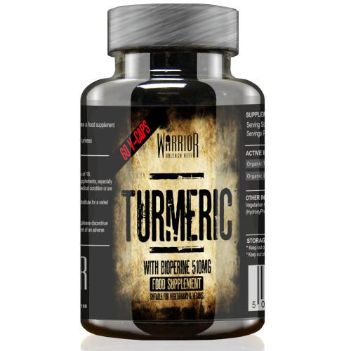 Warrior Turmeric Curcumin 510mg + Bioperine Antioxidant 1