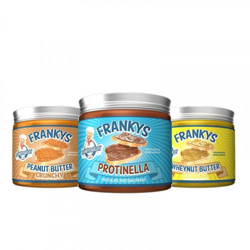 Peanut Whey Butter 450gr Frankys Bakery 1