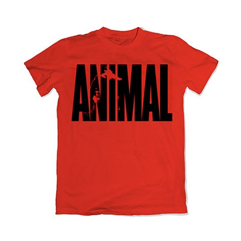Animal Iconic T-Shirt Red 1