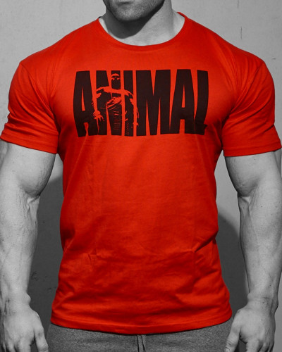 Animal Iconic T-Shirt Red 3
