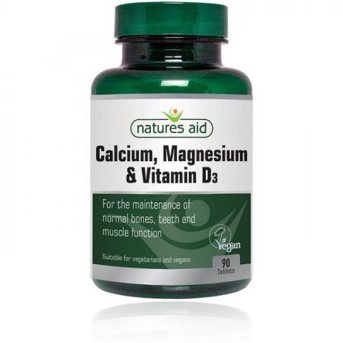 Calcium, Magnesium & Vitamin D3 Natures Aid 1