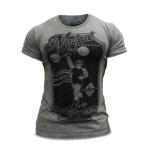 Mutant T-Shirt Gray Vintage 1
