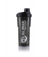 Alpha Bottle 750ml Smoke Black