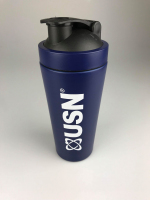 USN Stainless Steel Shaker Blue 2