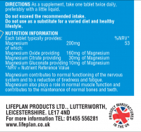 Magnesium Triple Source 200mg 2