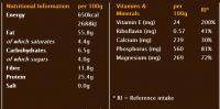 Бадемово масло 1kg Meridian Foods 2