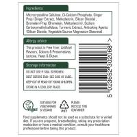 Ginger, Turmeric & Bromelain Natures Aid 3