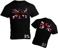 Union Jack Design 5%Nutrition Rich Piana