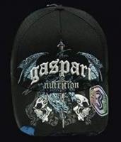Gaspari CAP Black Mesh Gothis Dragon Blue Tip 2