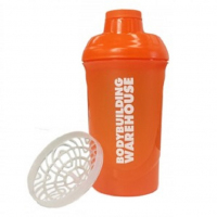 Screw Top Protein Shaker Bodybulding Warehouse 600ml